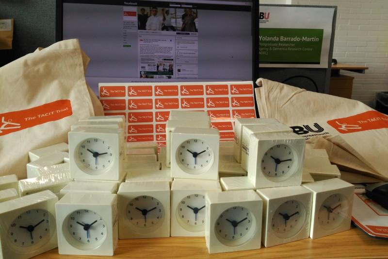 Image of alarm clocks