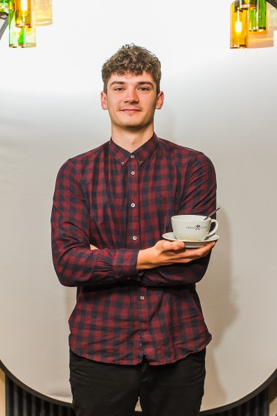BU student George Sampson on placement at Urban Guild