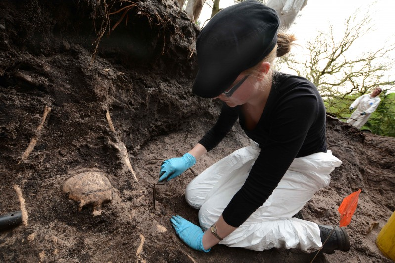 Trigon War Graves Dig 2016