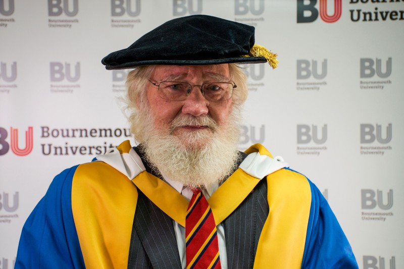 Larry Hollingworth - Honorary Doctorate