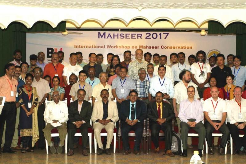 Mahseer conference delegates