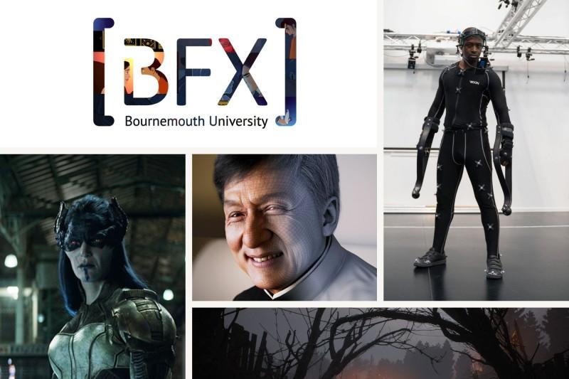 Photo collage of BFX masterclasses