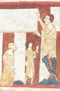 A manuscript illumination