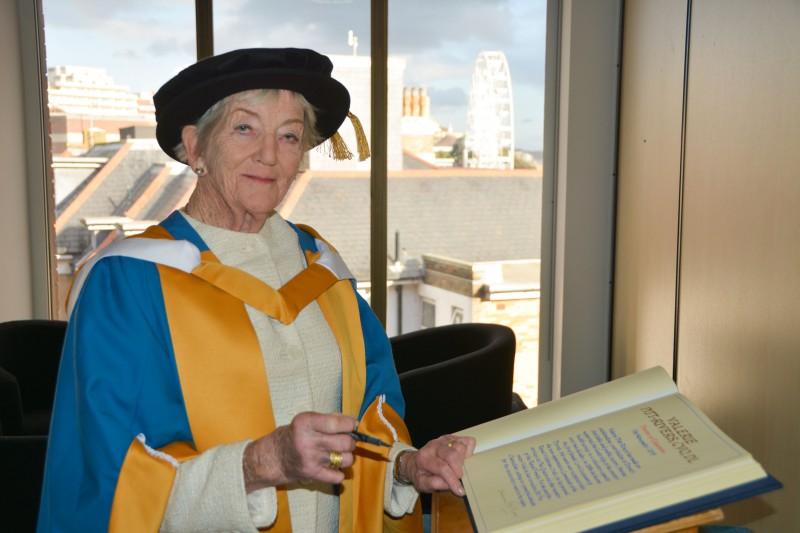 Valerie Pitt-Rivers Honorary Doctorate