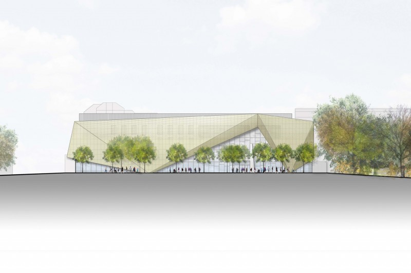 Artist impression of Poole Gateway building