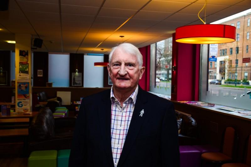 Ray Lewis visits BU
