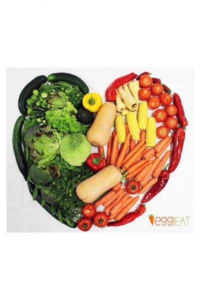VeggiEAT - a lovely VeggiHeart! - Carmen Martins VeggieEat