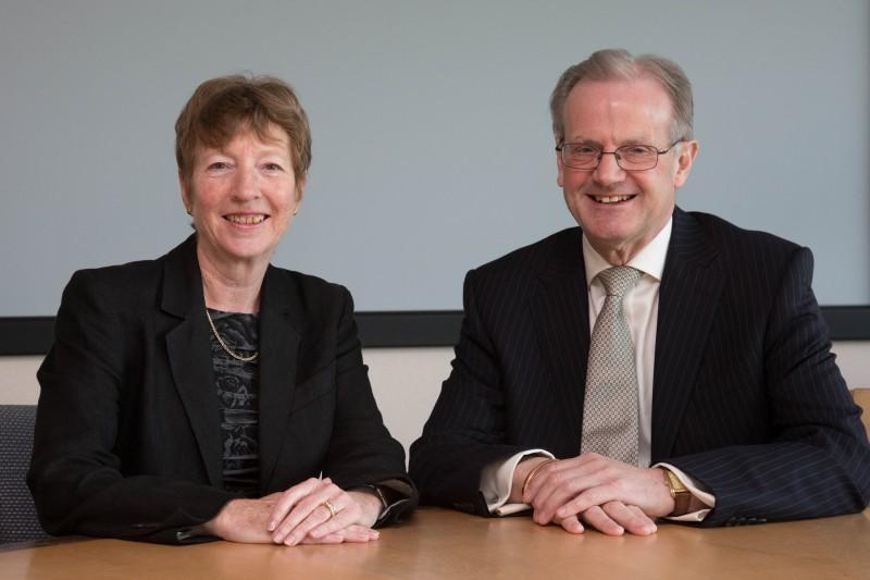 Richard Conder and Sue Sutherland
