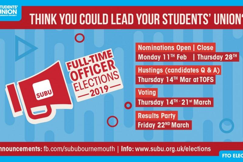 SUBU Elections 2019