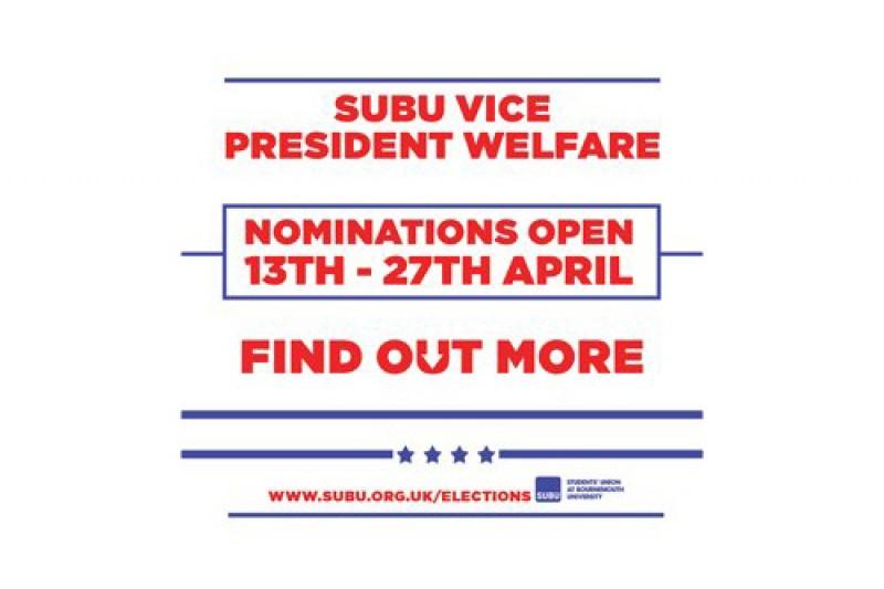 SUBU VP Welfare nominations