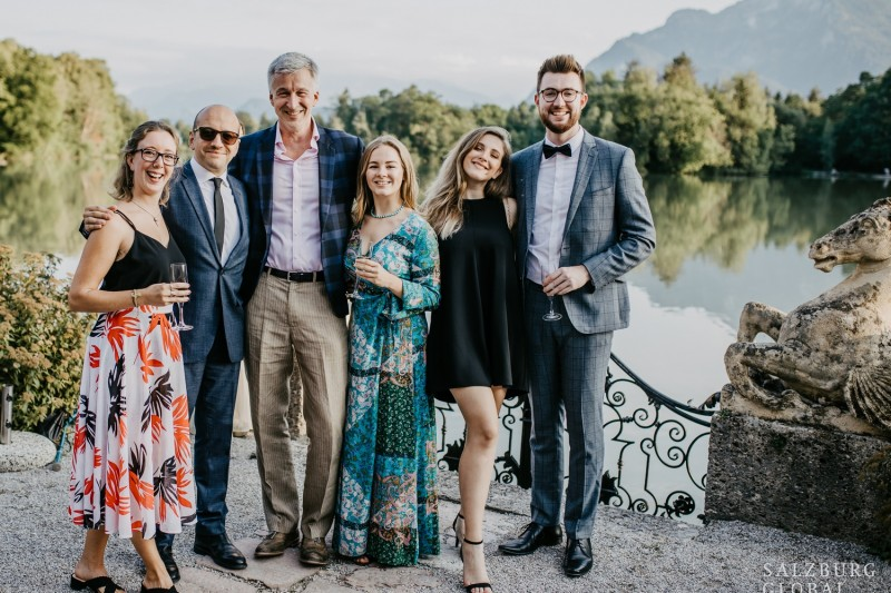 BU students in Salzburg 2019