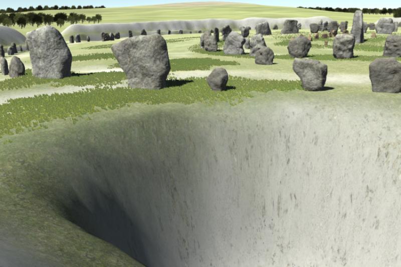 Virtual Avebury nears completion