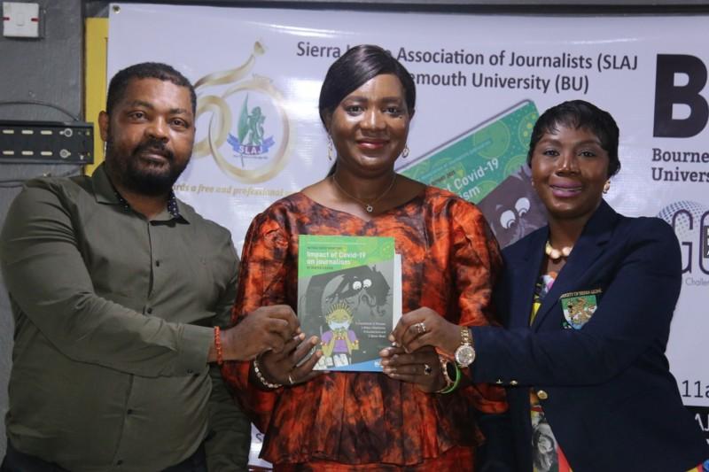Sierra Leone Covid-19 media impact report launch