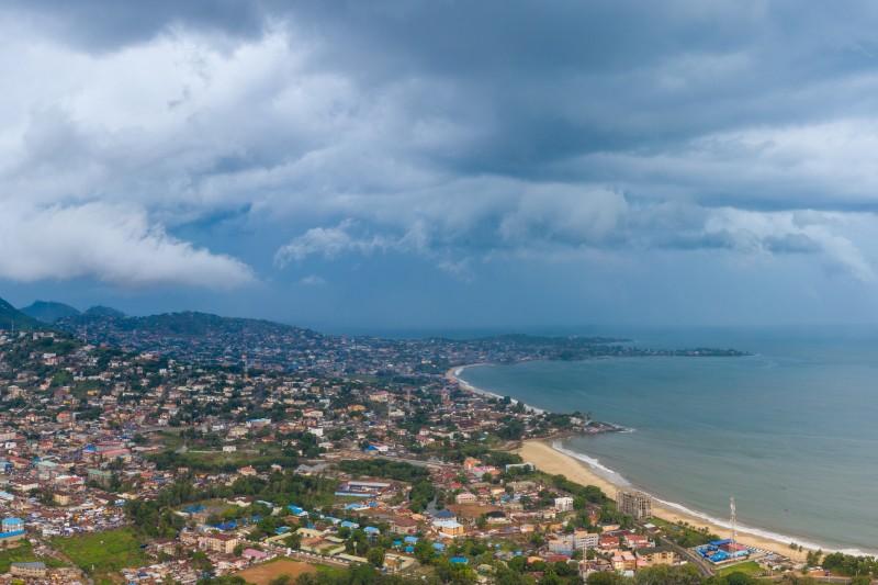 Sierra Leone Freetown coast