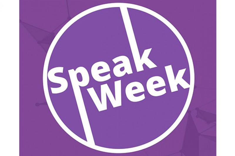 Speak Week logo