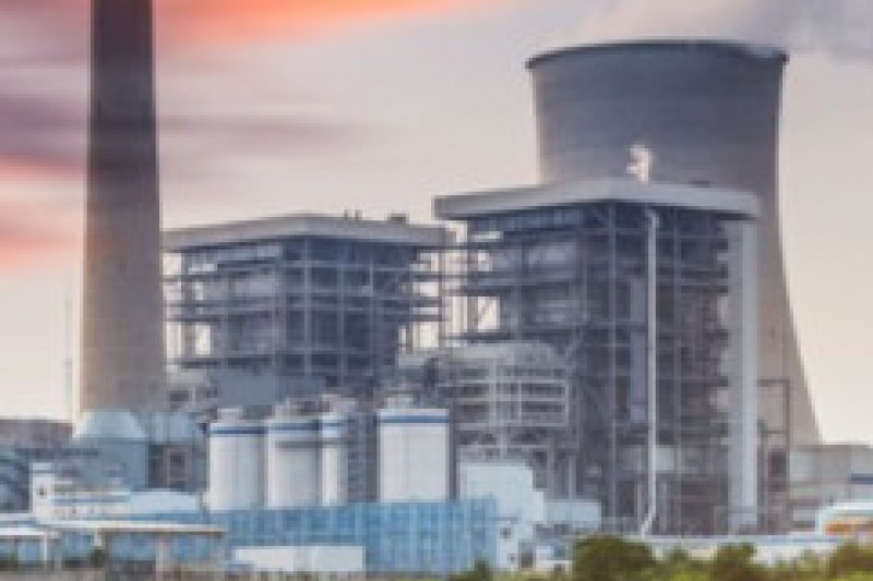 Image of a power station