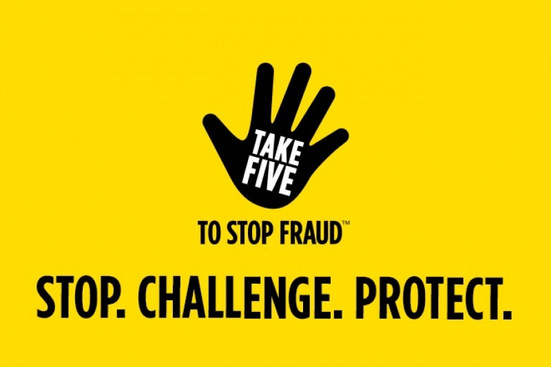 TakeFive to stop fraud