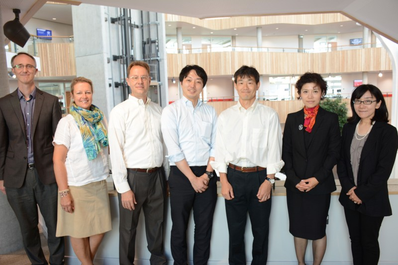 Toyo University visit