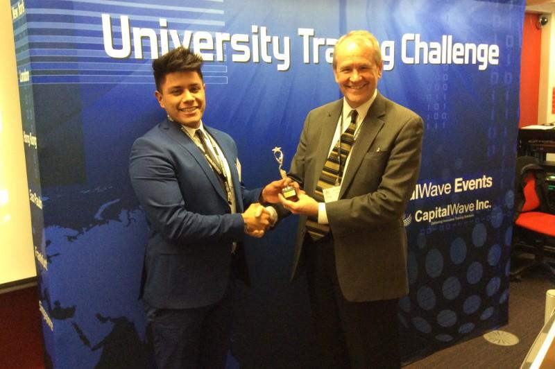 University Trading Challenge - individual winner