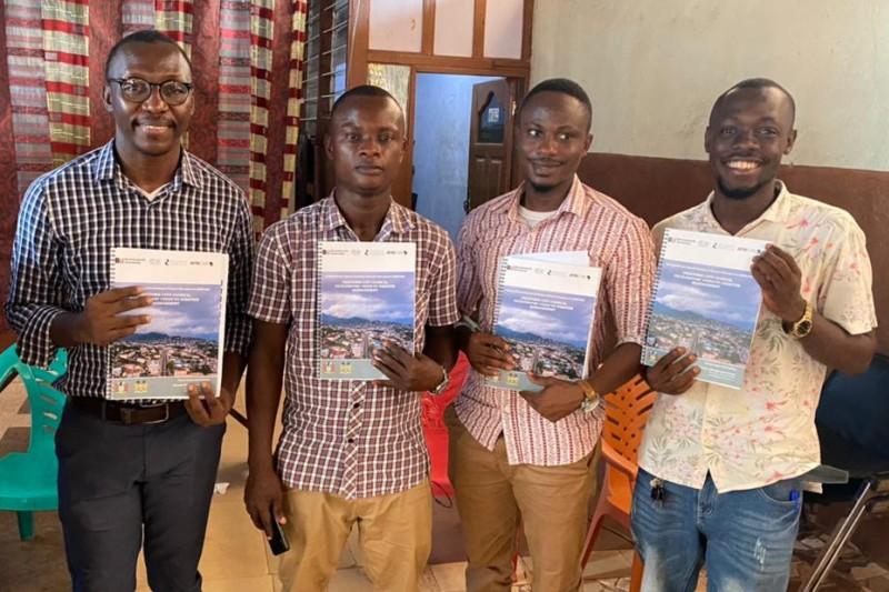 BUDMC training Freetown Sierra Leone