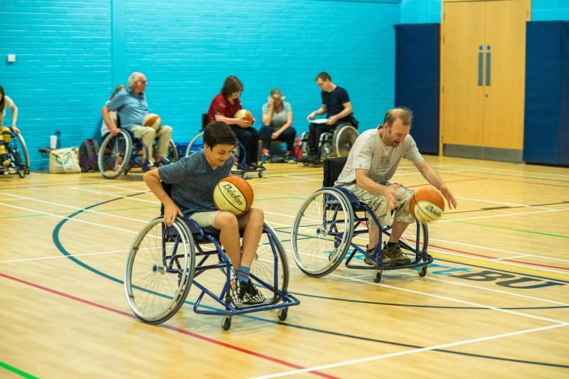 FoL wheelchair basketball
