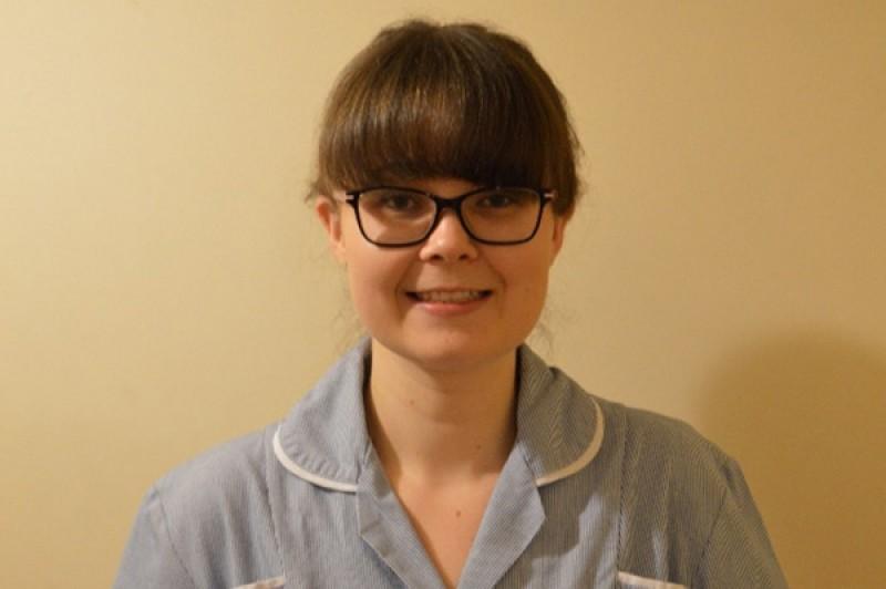 Abby Farzaneh, student nurse