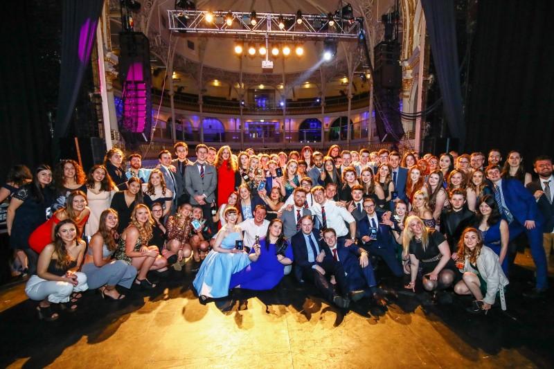 SUBU Activities Awards winners 2018
