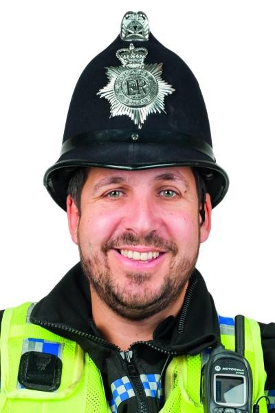 Policeman Andy Scarratt