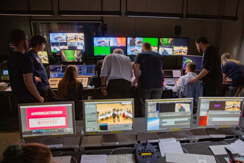 Inside a Weymouth House newsroom