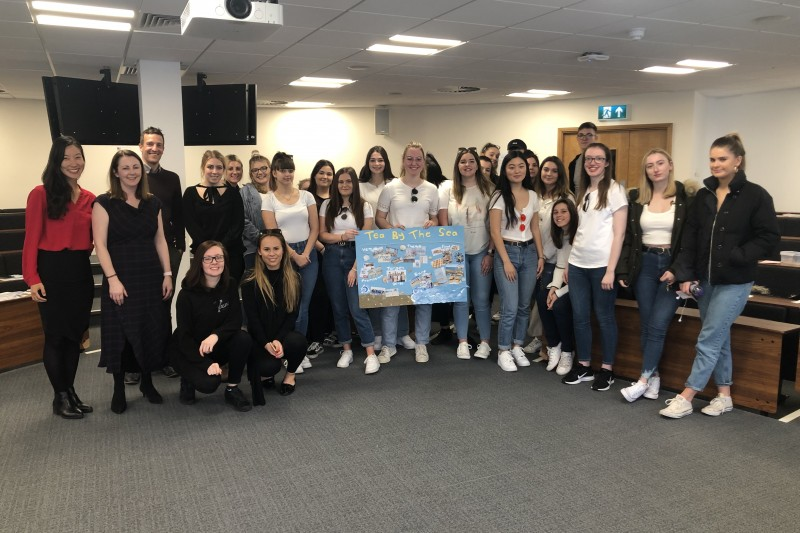 Events Management students pitch to local businesses