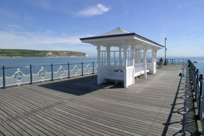 Swanage Pier. National Piers Society