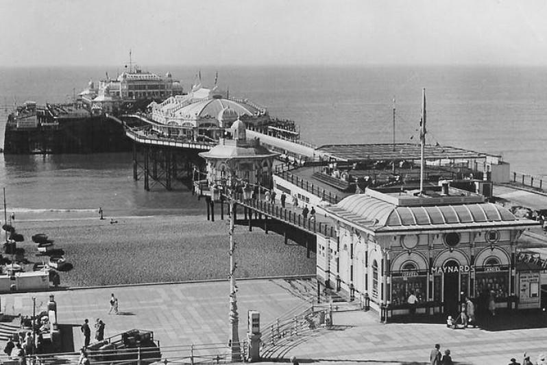 Brighton West Pier. National Piers Society
