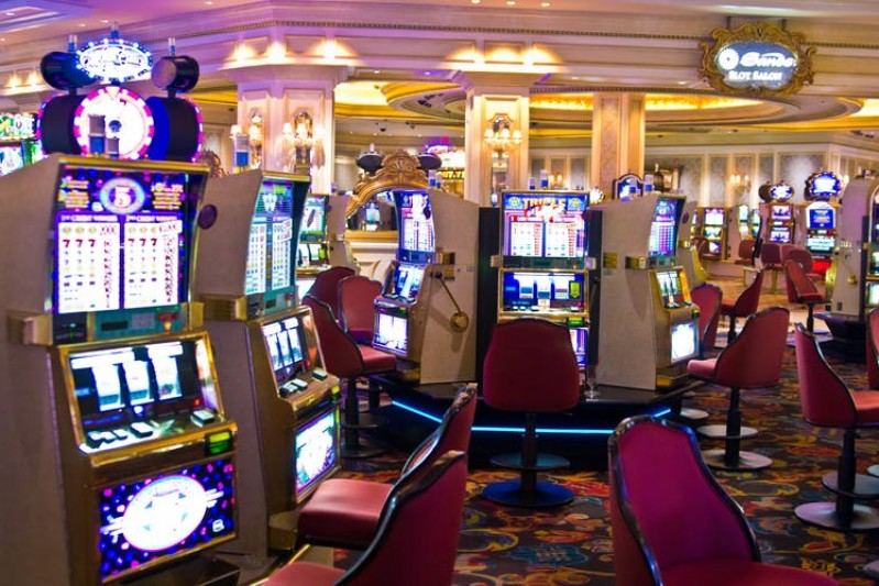Image of slot machines