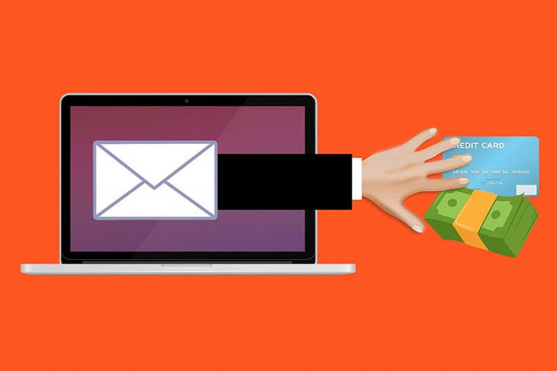 Fraud scam phishing email hero