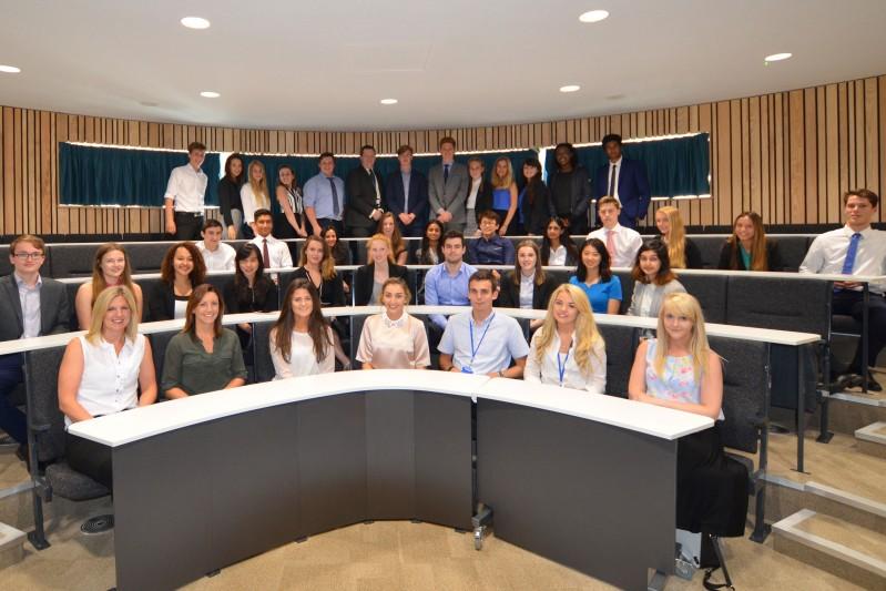JP Morgan summer school group
