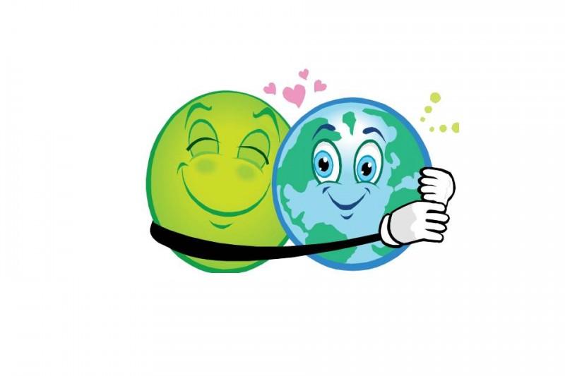 green planet hug