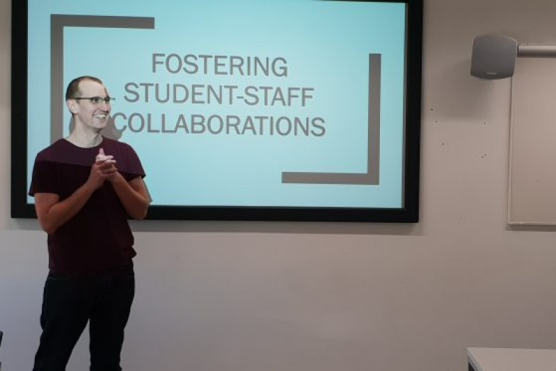 James Fair - fostering student-staff collaborations