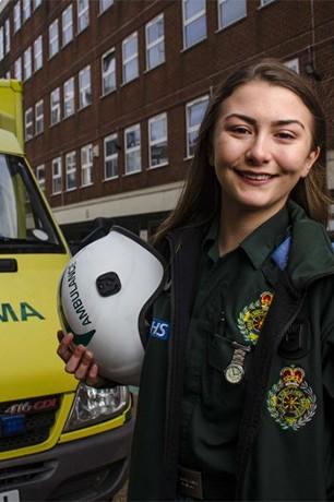 Jasmine Hart, Paramedic Science student