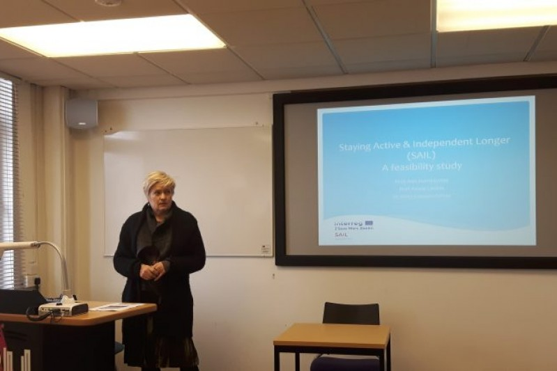 Presenting the SAIL Project and EMM to colleagues