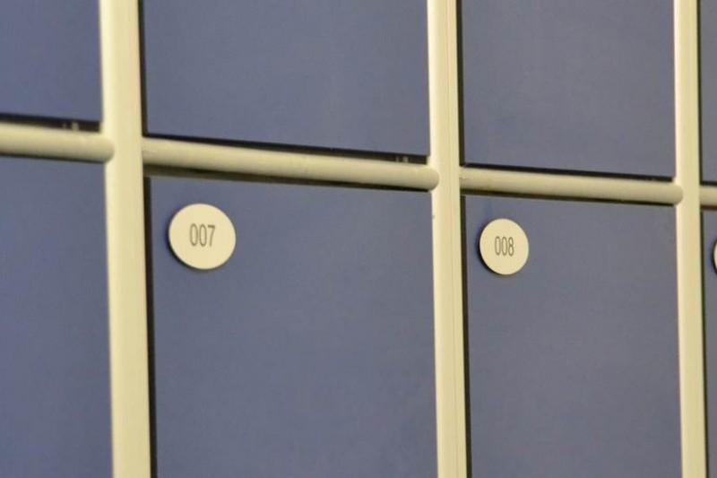 Lockers at SportBU