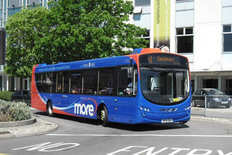 image of a more bus