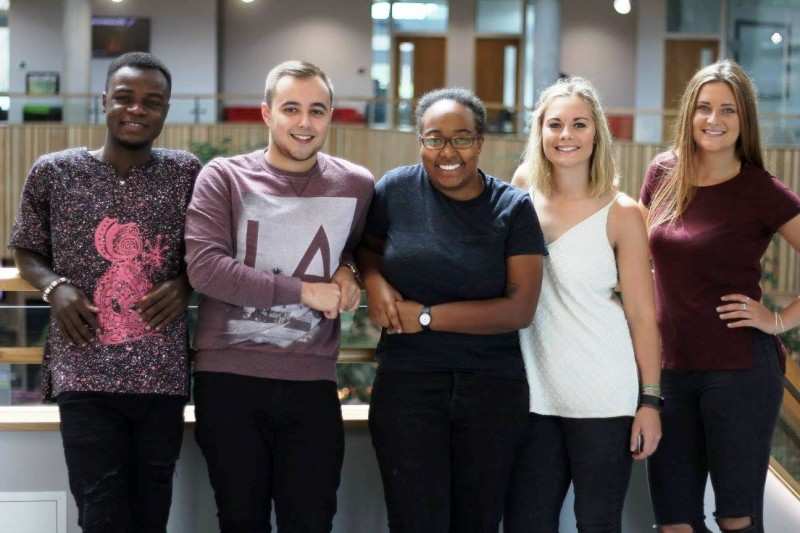 Students Union Full-Time Officers 2017-18