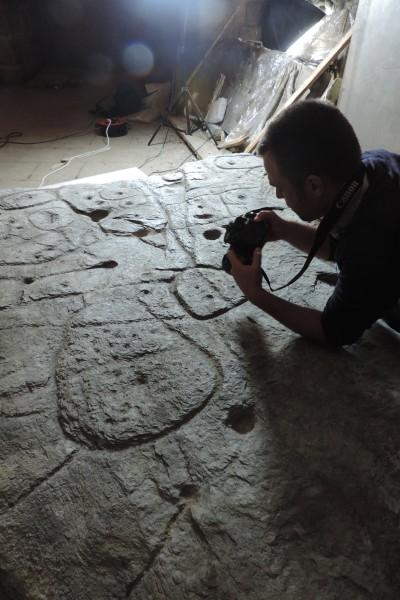 Examining the Saint-Bélec slab