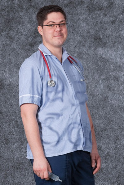 Scott Bruce, student nurse