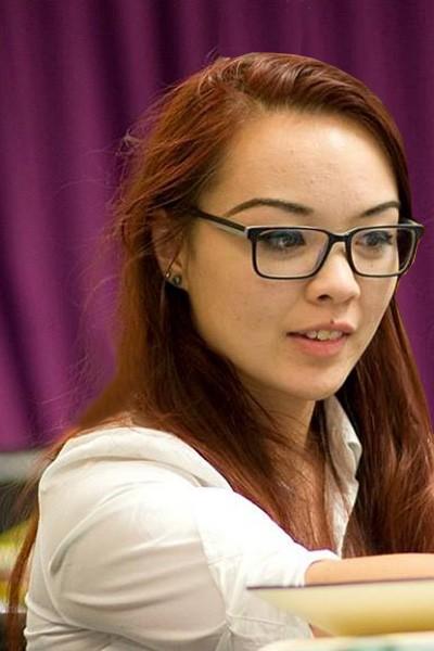 Sophia McCall, BU student