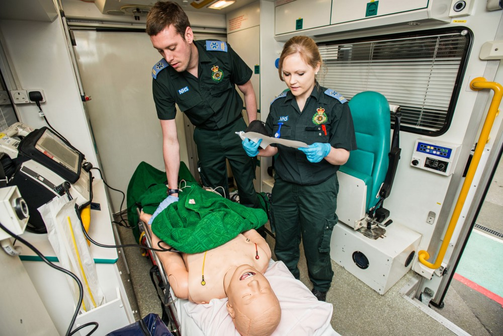 paramedic science foundation degree