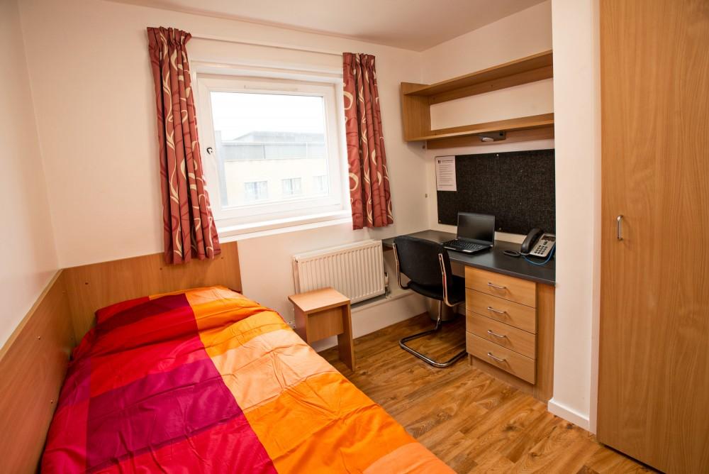 Cranborne House Bournemouth University Accommodation Map Bedroom Uni
