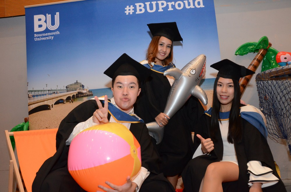 Faculty of Management graduates celebrate alongside ...