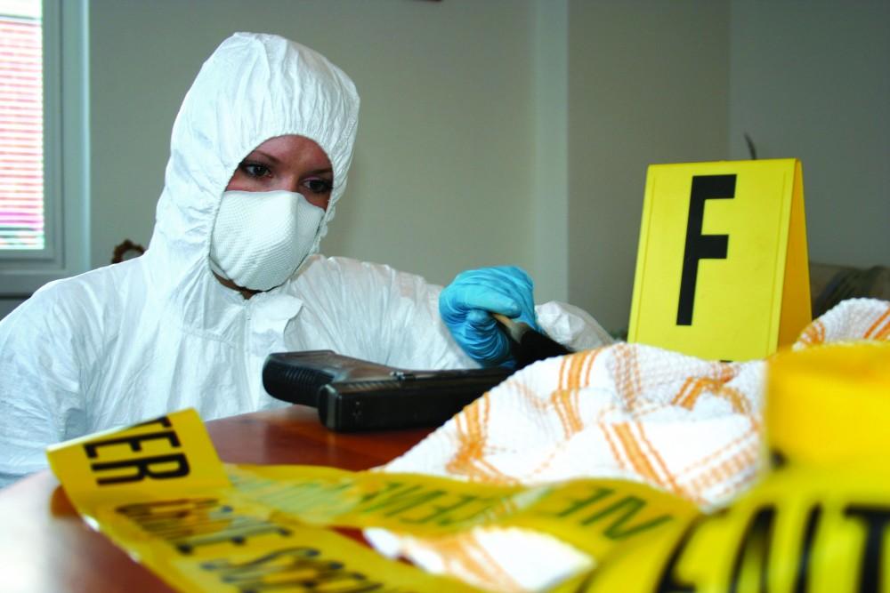 Crime Scene Training Facility Bournemouth University